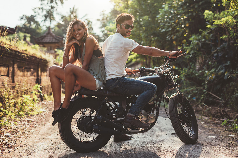 Wohnen am Klingertal Meissen - Frau Mann Leben Lifestyle Motorrad Bike Cool Hot Living